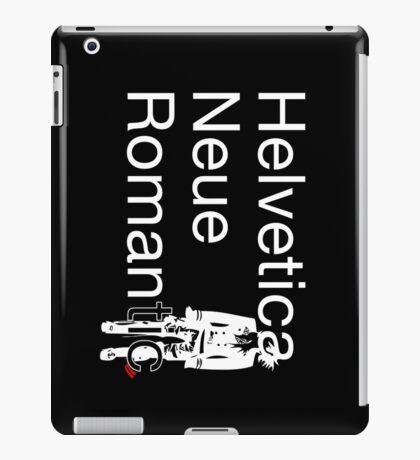 Helvetica Neue Romantic iPad Case/Skin