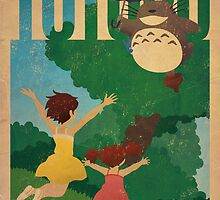 My Neighbor Totoro by James Bacon