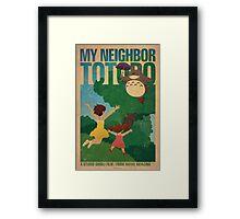 My Neighbor Totoro Framed Print