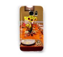 THE TABLE IS SET Samsung Galaxy Case/Skin