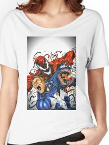 Carnage and Venom Women's Relaxed Fit T-Shirt