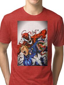 Carnage and Venom Tri-blend T-Shirt