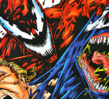 Carnage and Venom Sticker