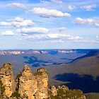 Three Sisters, Blue Mountains Australia by Steve Grunberger