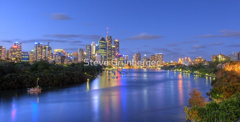 Brisbane City - HDR by Steve Grunberger