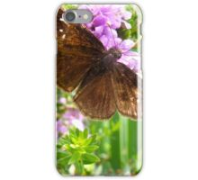 Like a moth to a flame iPhone Case/Skin