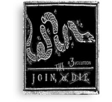 Join The R3VOLution! Canvas Print