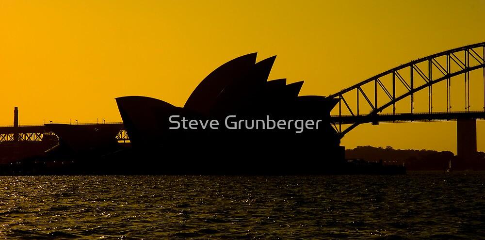 Sydney Opera House at Dusk by Steve Grunberger