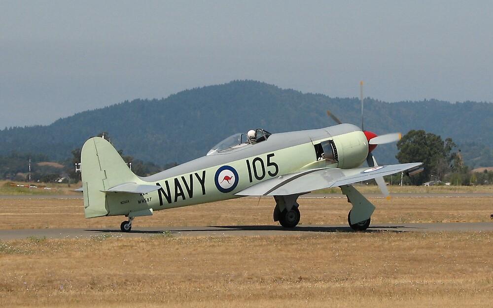 RAN Sea Fury by planecrazy1969