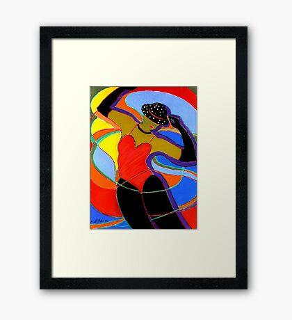Jazz Dancer Framed Print