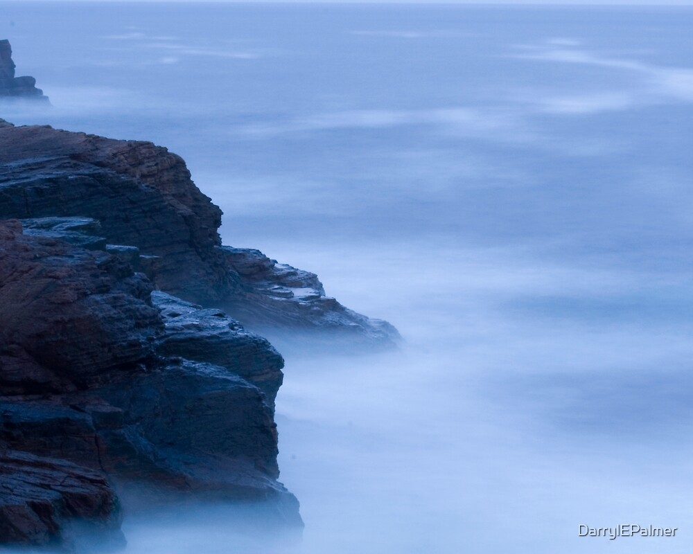 Flatrock at dusk by DarrylEPalmer