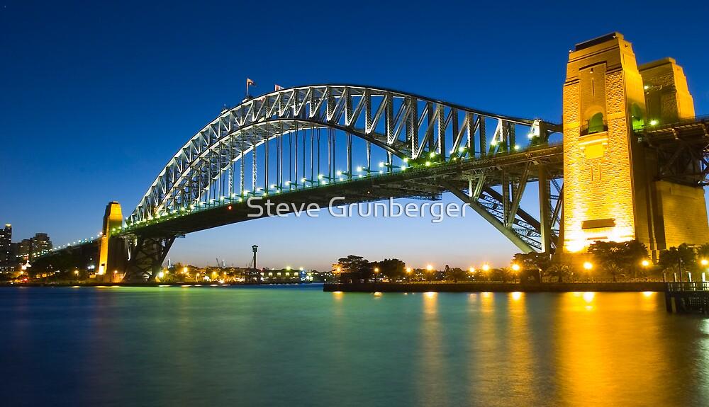 Sydney Harbour Bridge - Australia by Steve Grunberger