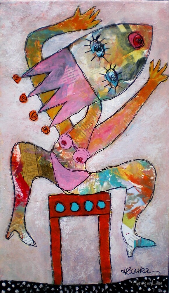 Basic Instinct (toile) by Haska Lae