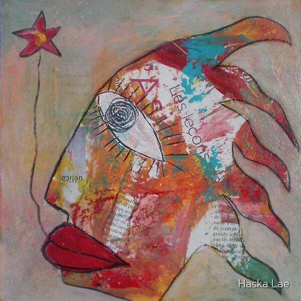 La destinée (original paper sold out) by Haska Lae
