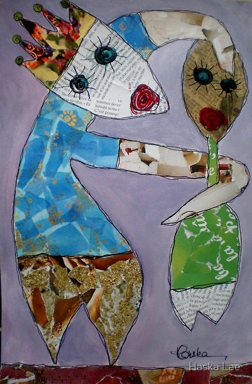 L'imposture (original paper sold out) by Haska Lae