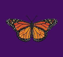 The KING of Butterflies, a Monarch by Roger Swezey