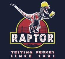 Raptor. Testing fences since 1993. Kids Clothes