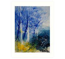 watercolor 111107 Art Print
