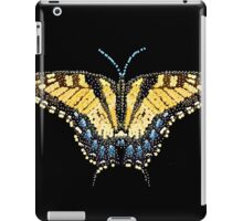 Bedazzled Tiger Swallowtail Butterfly iPad Case/Skin
