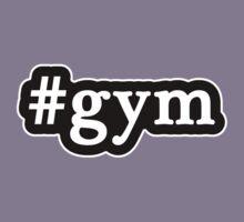 Gym - Hashtag - Black & White Kids Tee