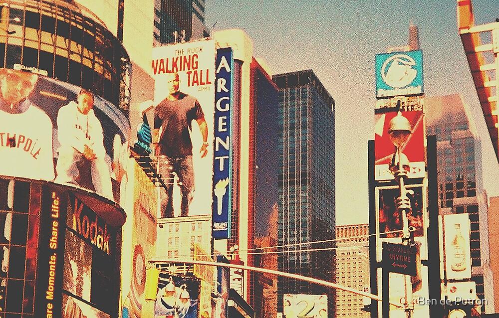 Times Square New York City by Ben de Putron