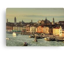 Vaporetto Station Canvas Print