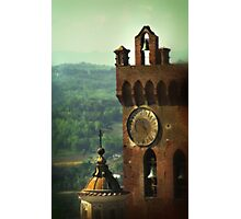 Tuscan Towers Photographic Print