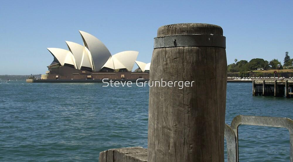 Opera House and a Pole by Steve Grunberger