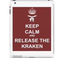 Keep Calm and Release the Kraken iPad Case/Skin