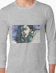 ZOMBIE CHOKES GIRL Long Sleeve T-Shirt