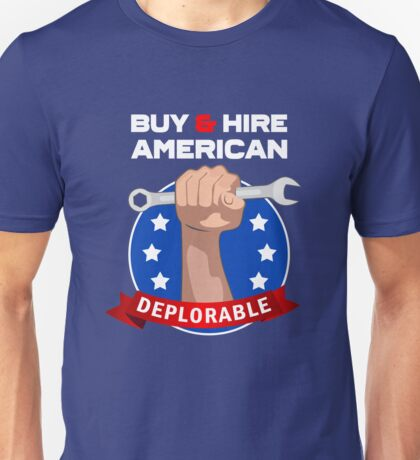 Buy and Hire American Unisex T-Shirt
