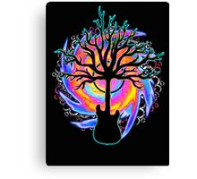 """""""Psychedelic Sonic Cyclone"""" ( surreal guitar art ) Canvas Print"""