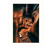 Spooky Slot Canyon Art Print