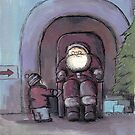 Santa's Grotto by Andy  Housham
