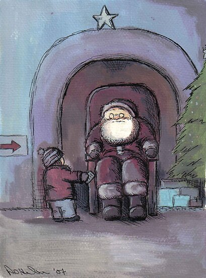 Santa's Grotto by Andy  Housham