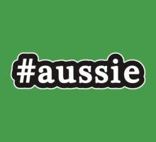 Aussie - Hashtag - Black & White by graphix
