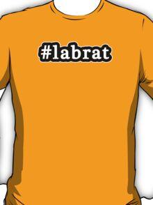 Lab Rat - Hashtag - Black & White T-Shirt