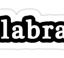 Lab Rat - Hashtag - Black & White Sticker