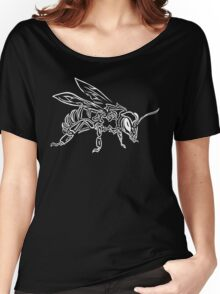 """Bee Spirit"" ver.2 - Surreal abstract tribal bee totem animal Women's Relaxed Fit T-Shirt"