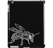 """Bee Spirit"" ver.2 - Surreal abstract tribal bee totem animal iPad Case/Skin"