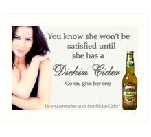Dickin Cider Art Print