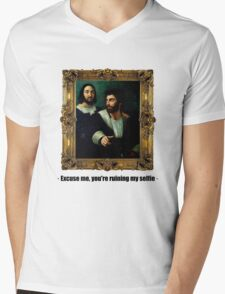 Excuse me, you're ruining my selfie Mens V-Neck T-Shirt