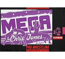 """Mega"" Chris JoneSNES Photographic Print"