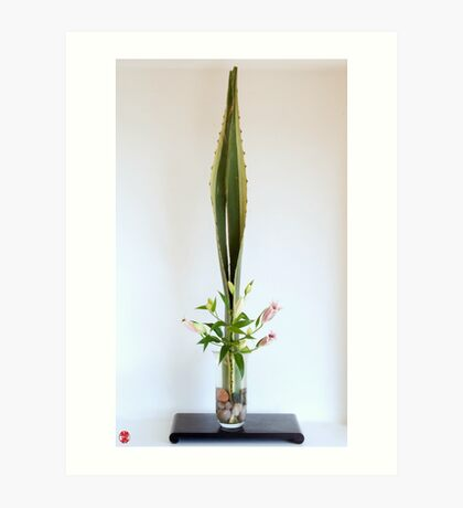 Ikebana-016 Art Print