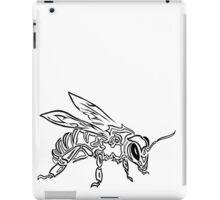 """Bee Spirit"" ver.1 - Surreal abstract tribal bee totem animal iPad Case/Skin"