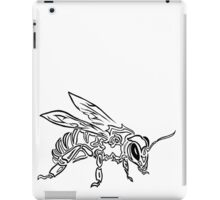 """Bee Spirit"" ver.1 - Surreal abstract tribal bee totem animal iPad Case/Skin"