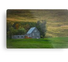 Autumn in the Icelandic Countryside Metal Print