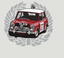 Fortitude - Mini Cooper 'Paddy Hopkirk 37 Wreath' by Twain Forsythe