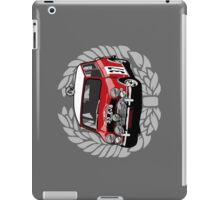 Fortitude - Mini Cooper 'Paddy Hopkirk 37 Wreath' iPad Case/Skin