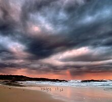 Stormy Sunset by Annette Blattman
